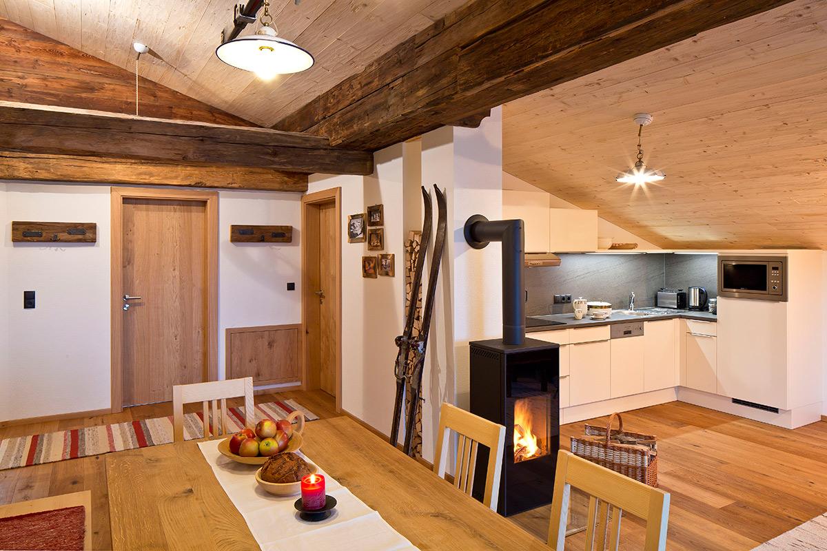 Appartements mit voll ausgestatteter Küche